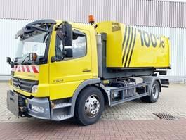 container truck Mercedes-Benz Atego 1524 L 4x2 Atego 1524 L 4x2, Winterdienstausstattung 2008