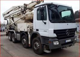 concrete pump truck Mercedes-Benz Actros 4141 B 8x4/4 Actros 4141 B 8x4/4, Putzmeister Betonpumpe ca. 26m, Fahrmischer... 2009