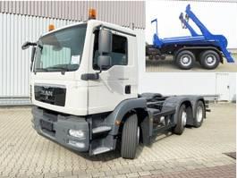 container truck MAN TGM 26 .250/290 6x2/4 BL TGM 26.250/290 6x2/ mit Vorlauf-Lift-/Lenkachse, 6-Zyl...