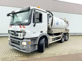 other trucks Mercedes-Benz Actros 2544 L 6x2 Actros 2544 L 6x2, Lift-/Lenkachse, LEISTIKOW Saugwagen ca. 13m³ 2011