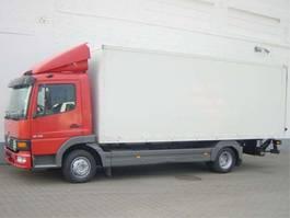 closed box truck Mercedes-Benz Atego 818 818L 4x2 Standheizung/Klima/eFH. 2001