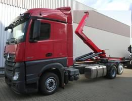 container truck Mercedes-Benz Actros 2545 L 6x2 Actros 2545L 6x2 mit Retarder, Hyva 20.60 S 2x VORHANDEN!