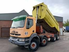 tipper truck > 7.5 t Renault Kerax 385 8x4 Kipper - Full steel - Euro 2/Manual injector - 1999 - 5787 1999