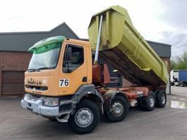 tipper truck > 7.5 t Renault Kerax 385 8x4 Kipper - Full Steel - Euro 2/Manual Injector - 1999 - 5786 1999