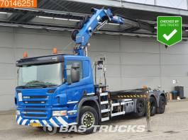 Container-LKW Scania P360 8X2 Lift+Lenkachse Euro 5 HMF 2020 K3 2011