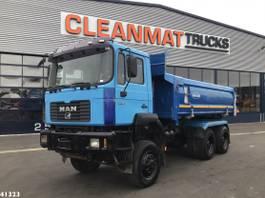 tipper truck > 7.5 t MAN 27.464 6x6 Kipper Manual Full steel Euro 2 1997