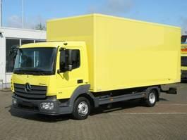 closed box truck Mercedes-Benz Atego 816 4x2 Atego 816 4x2, 2x Vorhanden! eFH. 2015