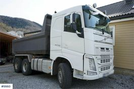 tipper truck > 7.5 t Volvo FH16 6x4 Tipper truck 2015