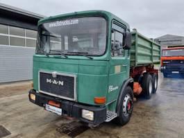 LKW Kipper > 7.5 t MAN 26.321 6x4 meiller tipper 1983