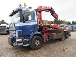 LKW Kipper > 7.5 t Scania 124/470 6x2 HMF2223K5 Full Spring 2004