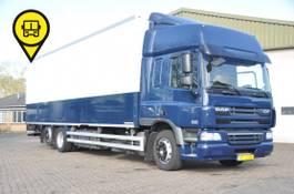 closed box truck DAF CF 75 6X2 LONG-BOX 334876 KM 2007