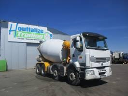 concrete mixer truck Renault Premium 430 Liebherr mixer - 9 m³ 2011