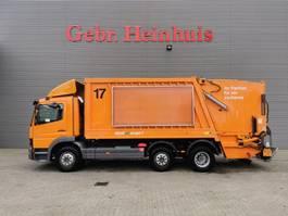 garbage truck Mercedes-Benz Atego 2128 6x2 Faun Variopress 317-20 2004