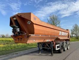 Kippauflieger 23m3 Tipper / Steel Box + Chassis / SAF / Drumbrakes 2008
