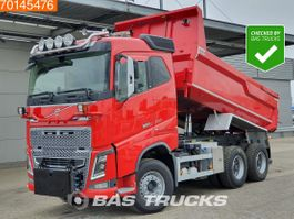tipper truck > 7.5 t Volvo FH16 6X4 FH16 750 Retarder Dynamic Steering Xenon Big-Axle 11m3 2016