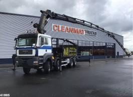 crane truck MAN TGA 41 8x8 Pritarder Palfinger 72 ton/meter laadkraan + Fly-Jib 2006