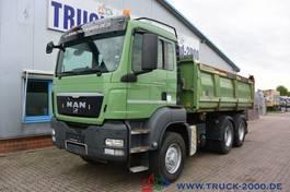 tipper truck > 7.5 t MAN TGS 26 6x6H 3-S Kipper Bordmatik links 1.Hd 2012