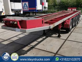 flatbed semi trailer Lueck SPR 75-5 5 axles 2007