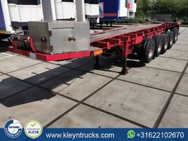 flatbed semi trailer Lueck SPR 75-5 5 axles 2008