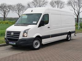 closed lcv Volkswagen Crafter 2.5 tdi 2011