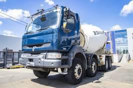 concrete mixer truck Renault Kerax 420 DCI 2006