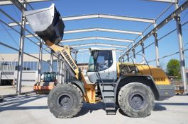 wheel loader Liebherr L556 , 21t , bucket 4,5m3 , ROPS , joystick , LIKE NEW 2014