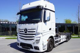 Fahrgestell LKW Mercedes-Benz Actros 2548 , E6 , 6X2 , chassis 7,2m , BDF , GIGASPACE , 2 beds 2018