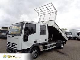 tipper truck > 7.5 t Iveco EuroCargo 90 90E17 + Manual + Kipper 1997