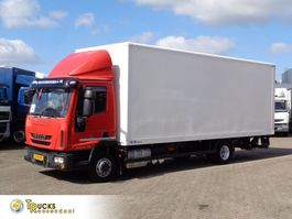 closed box truck Iveco EuroCargo 120 120EL21 + Euro 6 + Lift 2013