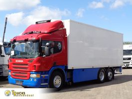 refrigerated truck Scania P380 + Manual + 6x2 + Carrier 750 Nordic 2008