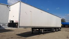 closed box semi trailer DRACO TXS 232 1999