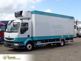 refrigerated truck Renault Midlum 190 DXI + Manual + Carrier Supra 750 Mt + LIFT 2007