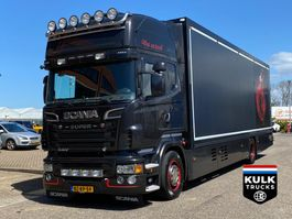 refrigerated truck Scania R500 / Flower / KING of the ROAD Theo Mulder 7 karren bak / UNIQUE 2012