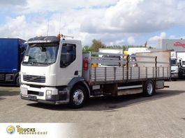platform truck Volvo FL long box + Manual + Dhollandia Lift + ADR (gas) + low mileage 2008