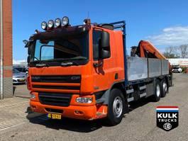 platform truck DAF CF 75 6X2*4 / PALFINGER 15Ton NL TRUCK / TOP CONDITION 2007