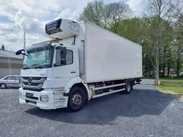 refrigerated truck Mercedes-Benz Axor 1824 euro 5- dhollandia 1500kg- carrier