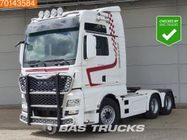 cab over engine MAN TGX 28 6X4 XXL ACC Intarder 2x Tanks Xenon Navi 2016