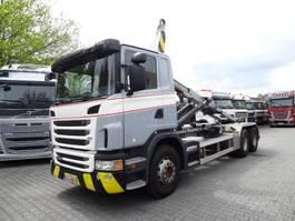 container truck Scania G 440 6X4 MULTILIFT HAKEN 2013