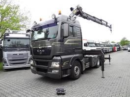 crane truck MAN TGX 28 6X2 mit HMF 2820 K4 2009