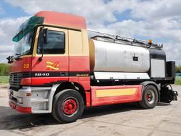 bitumen sprayer truck Mercedes-Benz Actros 1840 Asphalt Sprayer 2000