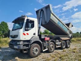 tipper truck > 7.5 t Renault Kerax 380 DXI 8X4 MANUAL 2011