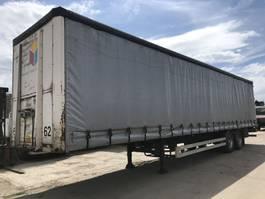 sliding curtain semi trailer Van Hool **DRUMBRAKE-BELGIAN TRAILER-13.60** 2001