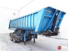 tipper semi trailer Trailor Oplegger steel lames 2009