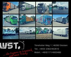 refrigerated semi trailer LAMBERET TK Rohrbahn/ Meat / Fleisch Thermoking SLX 300 e 2016