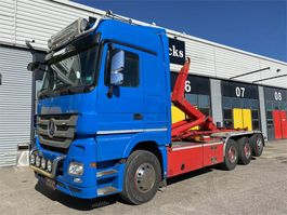 container truck Mercedes-Benz Actros 3560 LL 8x4/4 2013