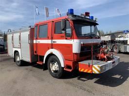 fire truck Mercedes-Benz 1624 V8 museokatsastettu 1978