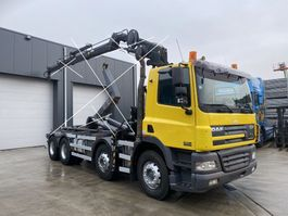 chassis cab truck DAF CF 85 CF85.380 8X4 CHASSIS CABINE