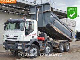 tipper truck > 7.5 t Iveco Trakker 8X4 Hydraulik Big-Axle Manual Kipper 16m3 Euro 4 2008