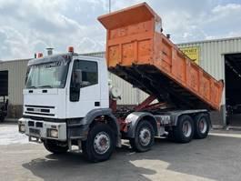 tipper truck > 7.5 t Iveco 410E42H EuroTrakker Kipper 8x4 Good Condition 1999