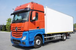 refrigerated truck Mercedes-Benz Actros 1842 , E6 , 19 EPAL , retarder , GIGASPACE , ACC , 2 beds 2018